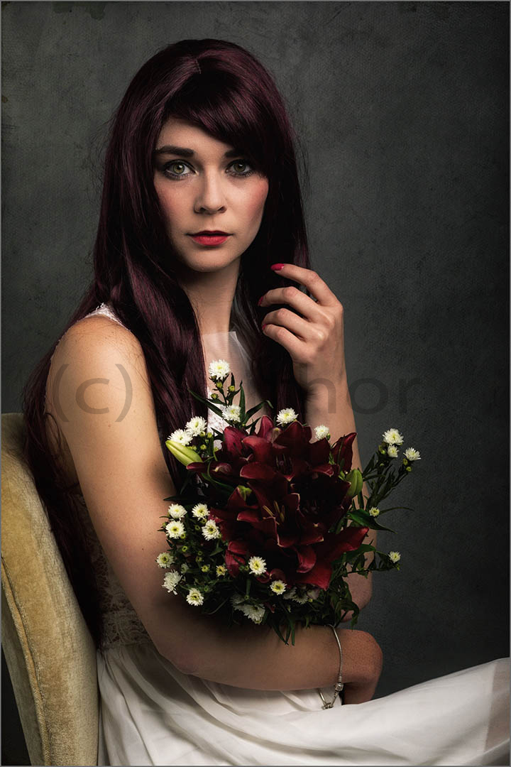 3_PI_Portrait of Lady with Flowers _Stephen Kangisser